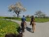 1. Rekognos-zierungsritt Gertau-Romanshorn 17.4.2011